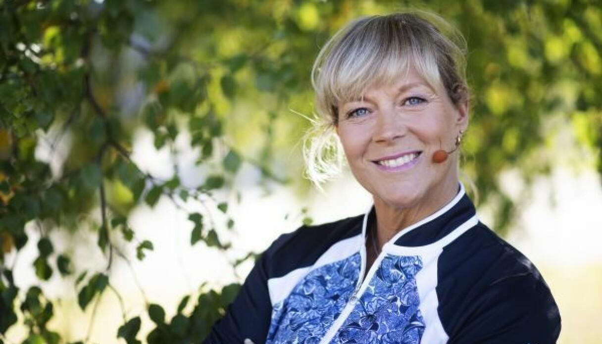 """Sofia Åhman, känd från """"Hemmagympa med Sofia"""" i SVT"""