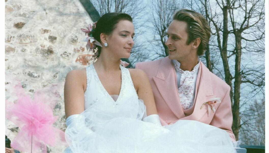 "Sofia Wistam och Thomas ""Orup"" Eriksson gifter sig i april 1989."