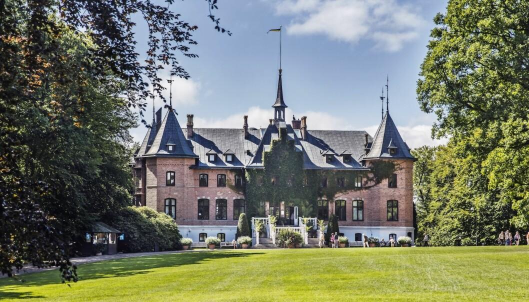 Sofiero slott som utflyktsmål på sommaren