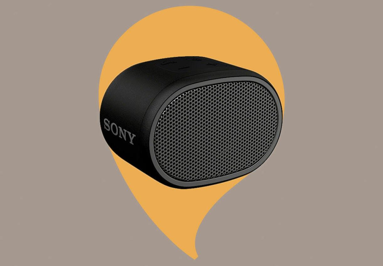 Sony bärbar högtalare från Clas Ohlson
