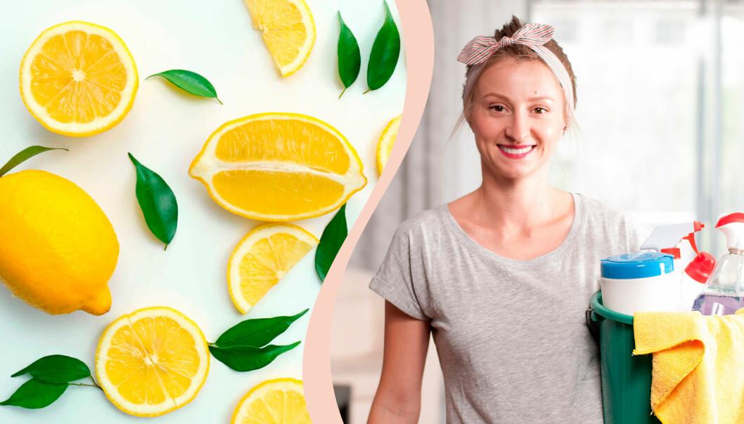 Citroner är effektiva för många olika typer av husmorstips, framför allt vad gäller rengöring av ytor och saker som till exempel skärbrädor.
