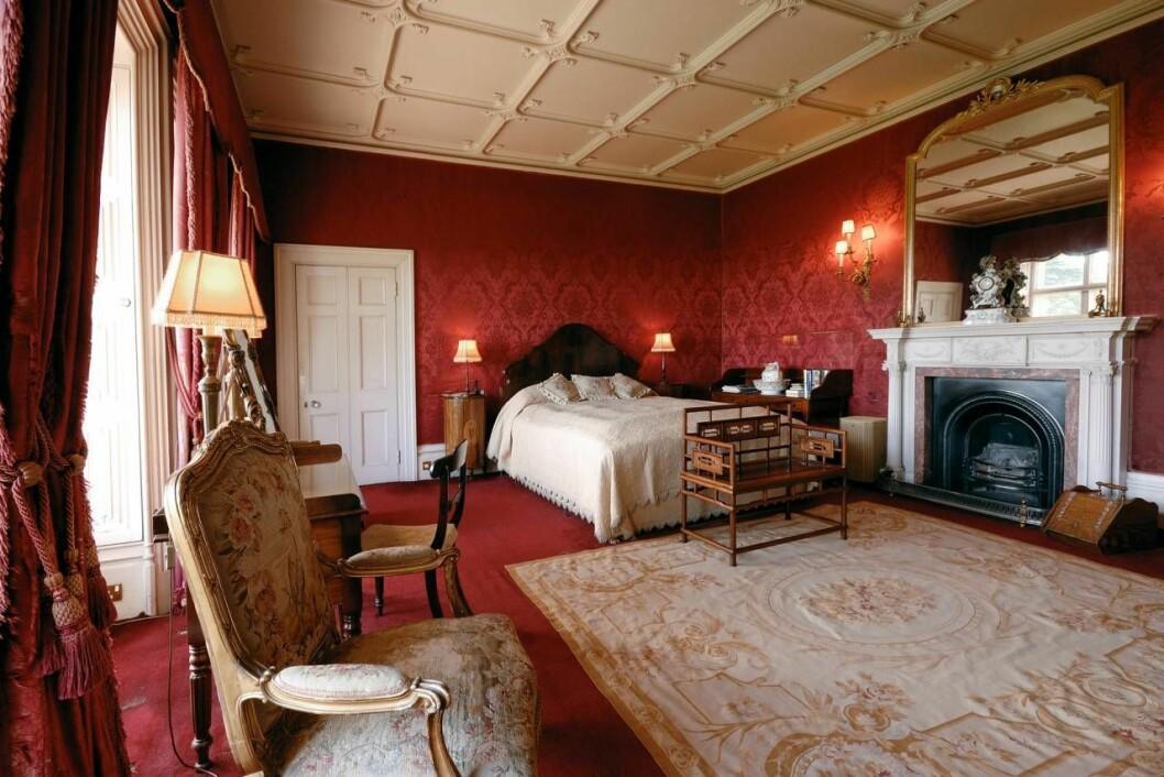 Sovrum i riktiga Downton Abbey