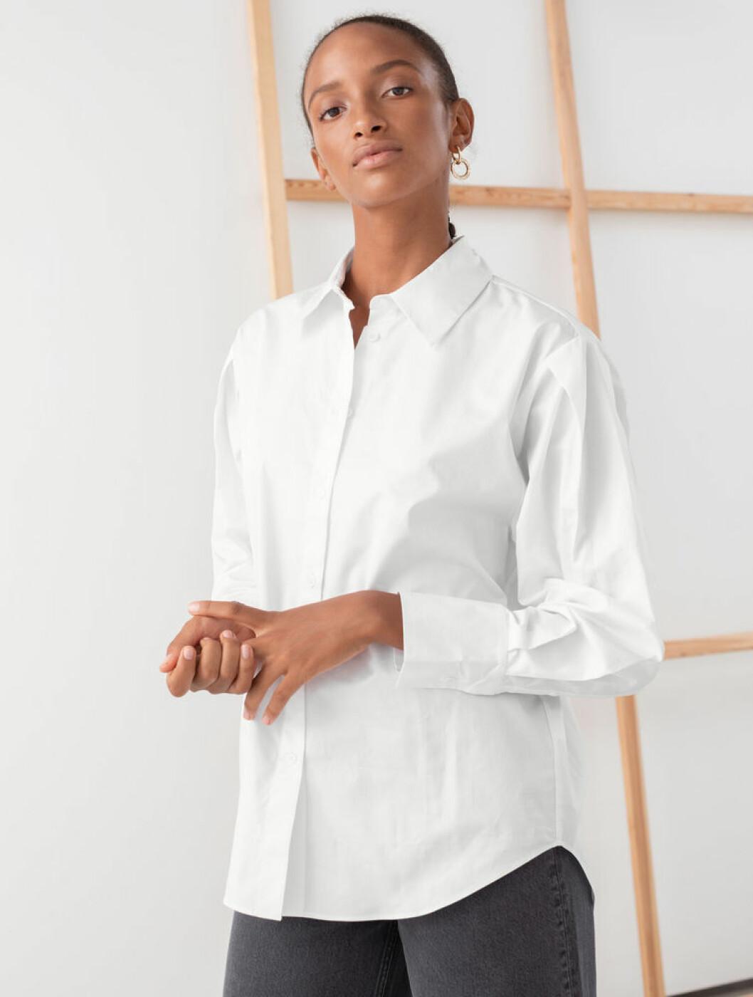 Vit skjorta från & other stories