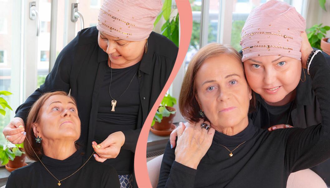 Susannes mamma Raili får guldhjärtat.