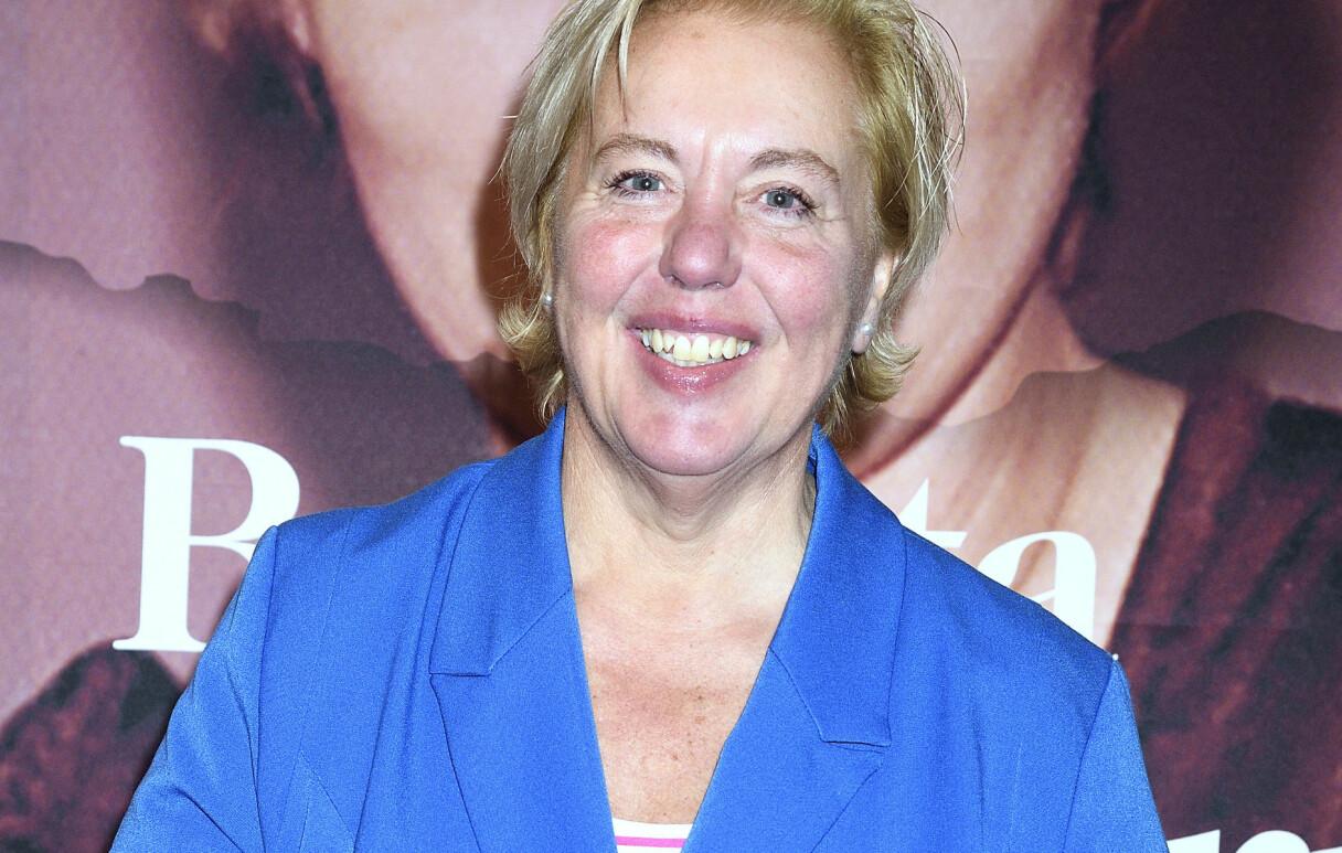 Suzanne Axell som slutar som programledare för Fråga Doktorn i SVT.