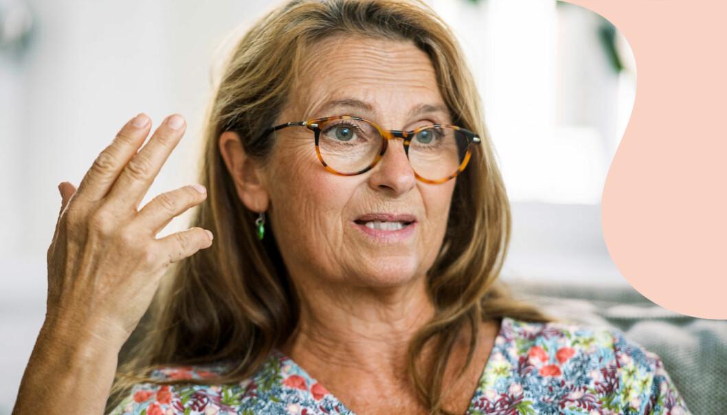Suzanne Reuter fotograferad inför premiären av Vår tid är nu i SVT.