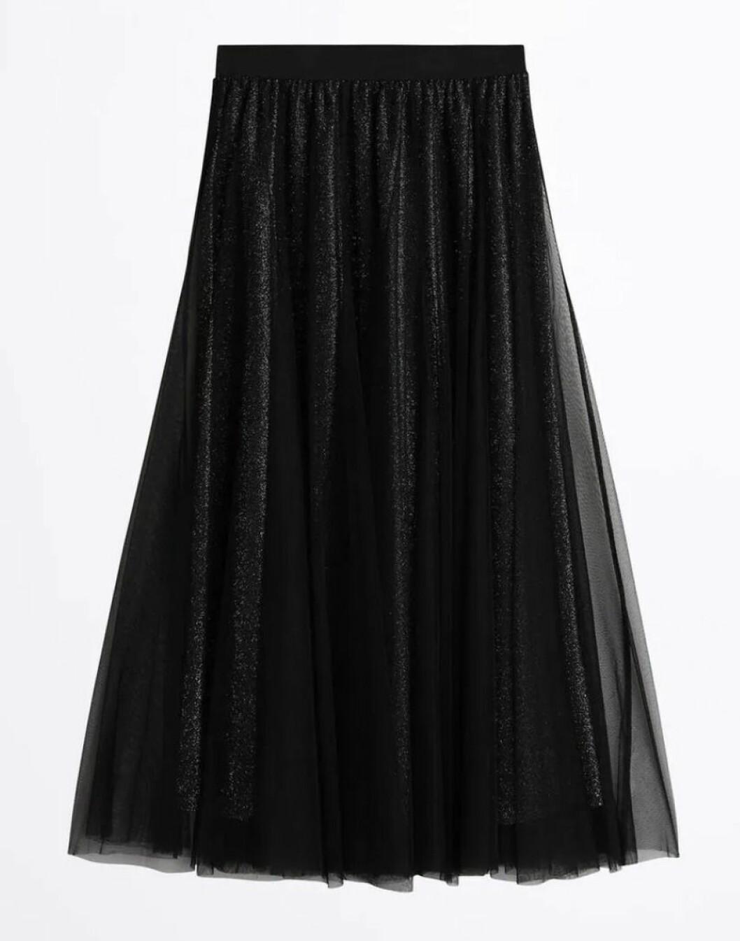 Svart kjol från Gina tricot