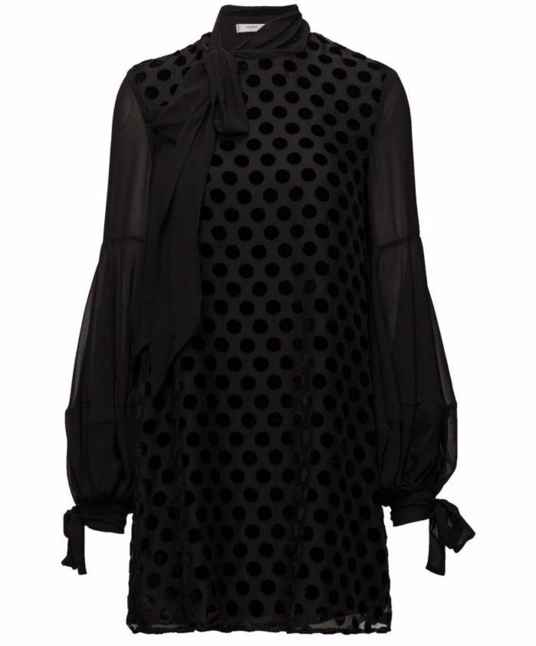 svarta klänningar till nyår