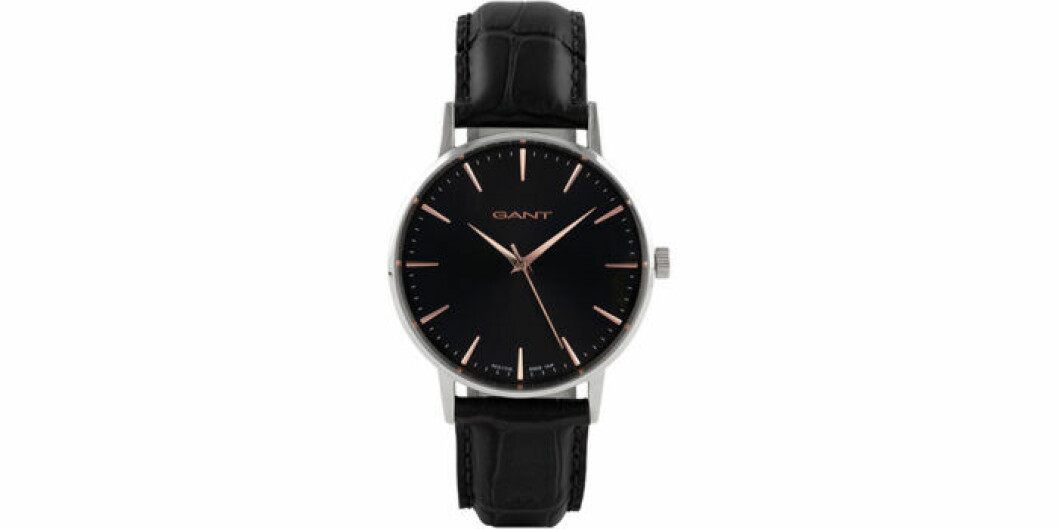 Svart klocka från Gant