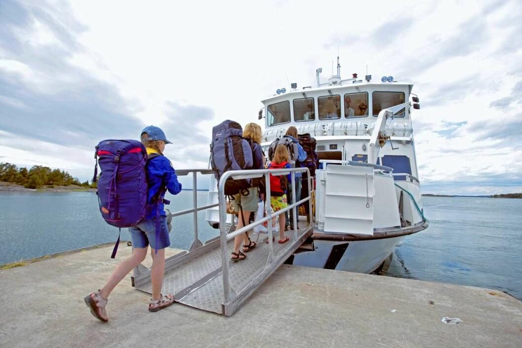 Båtluffa på hemmaplan
