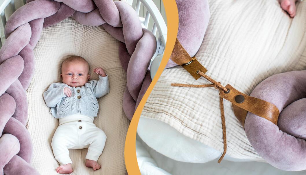 Sy en babyfläta -beskrivning