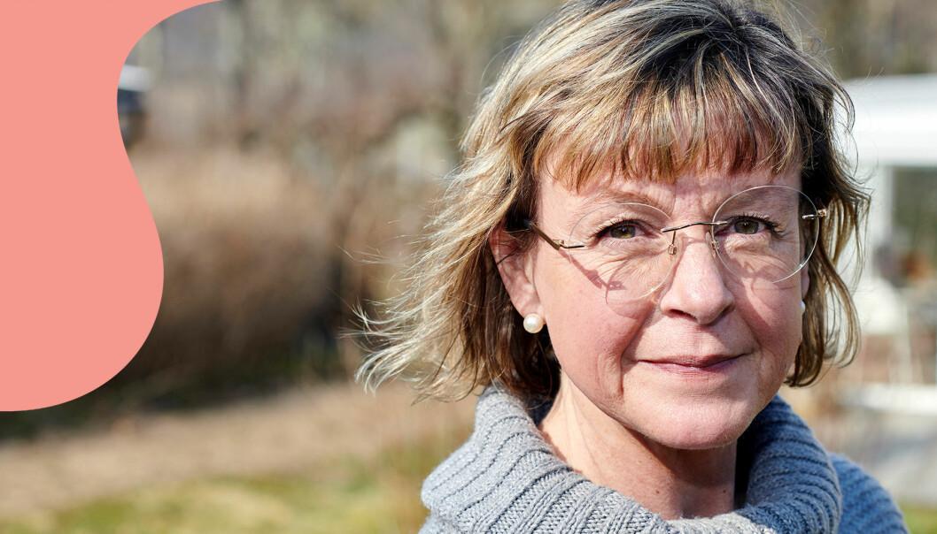 Porträtt av Sussi som lever med sjukdomen cystisk fibros –precis som sin döda syster.