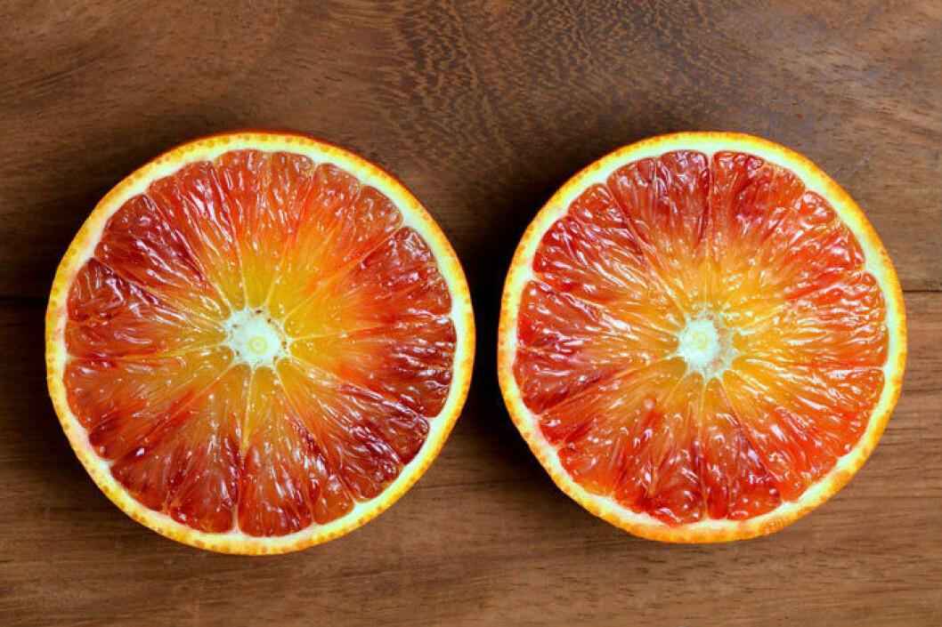 Tarocco – enligt många den godaste apelsinen.