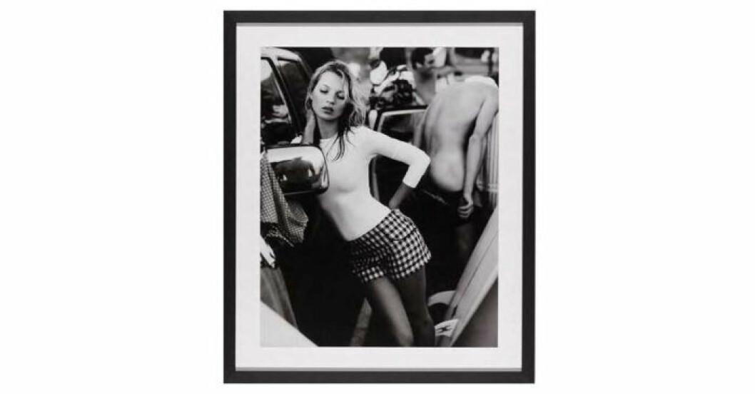 Tavla med Kate Moss