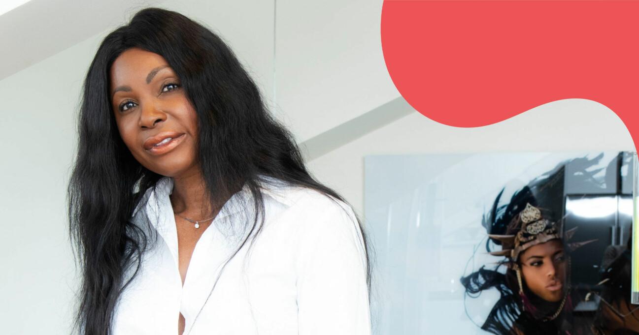 Teresa Afonso Leimdörfer som kom från ett fattigt liv i Angola till att bo på fin address i Stockholm.