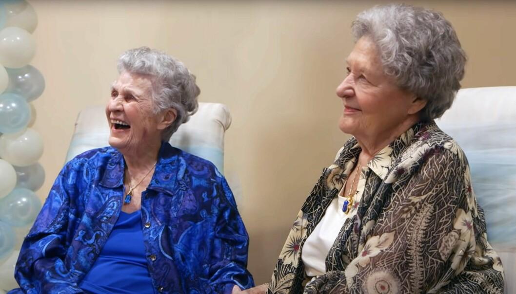 Terry Donahue och Pat Henschel har varit ett par sedan 1940-talet.