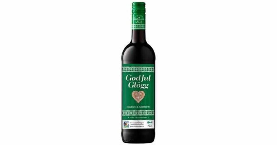 God Jul Glögg, ekologisk, kravmärkt och alkoholfri,  26 kr/75 cl.