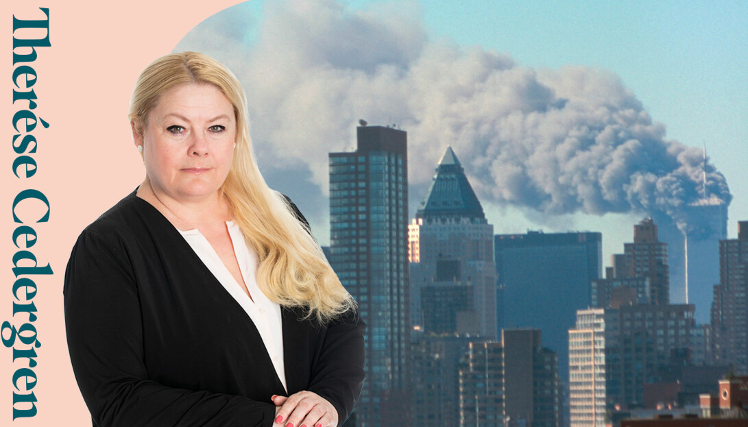 Therése Cedergren minns var hon var den 11 september 2001 när plan flög in i World trade center på Manhattan.