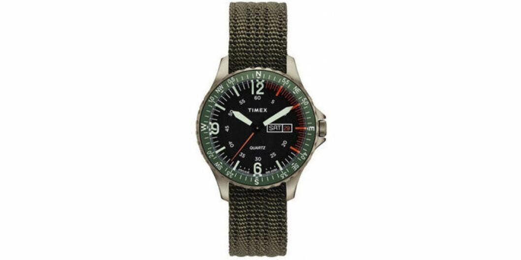 Grön klocka från Timex