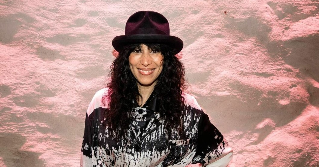 Titiyo när hon valdes in i Sveriges musik Hall of Fame