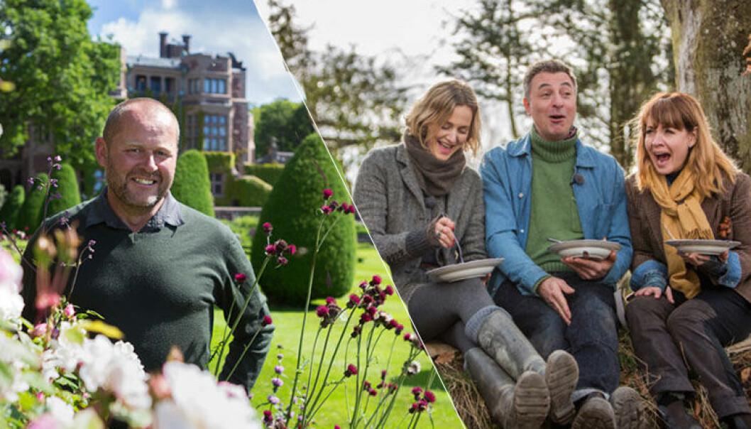 John Taylor har fått nytt jobb, som konstnärlig ledare på Tjolöholms slott – men fortsätter med SVT:s Trädgårdstider.