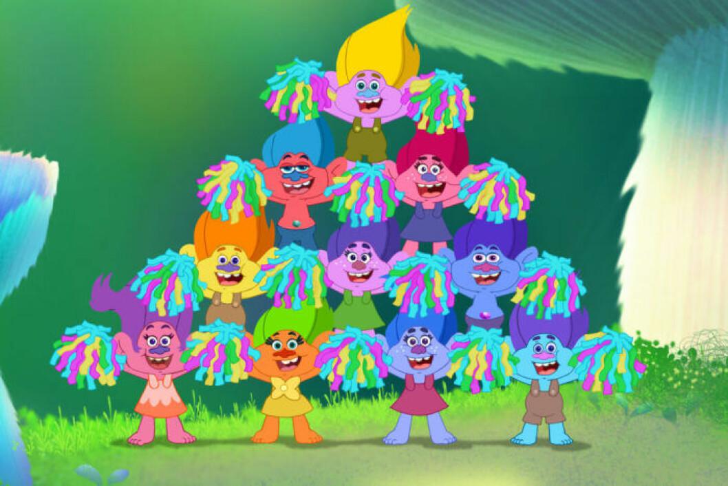 Vi kan bara inte få nog av de färgglada trollen i Trolls!