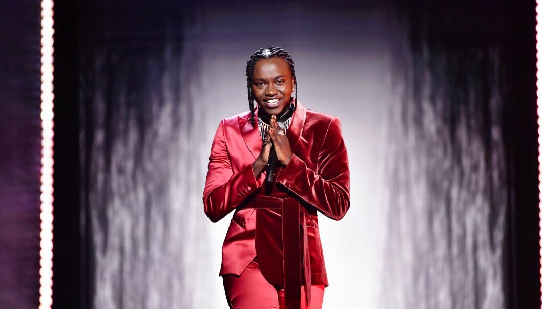 Tusse vinner Melodifestivalen 2021.
