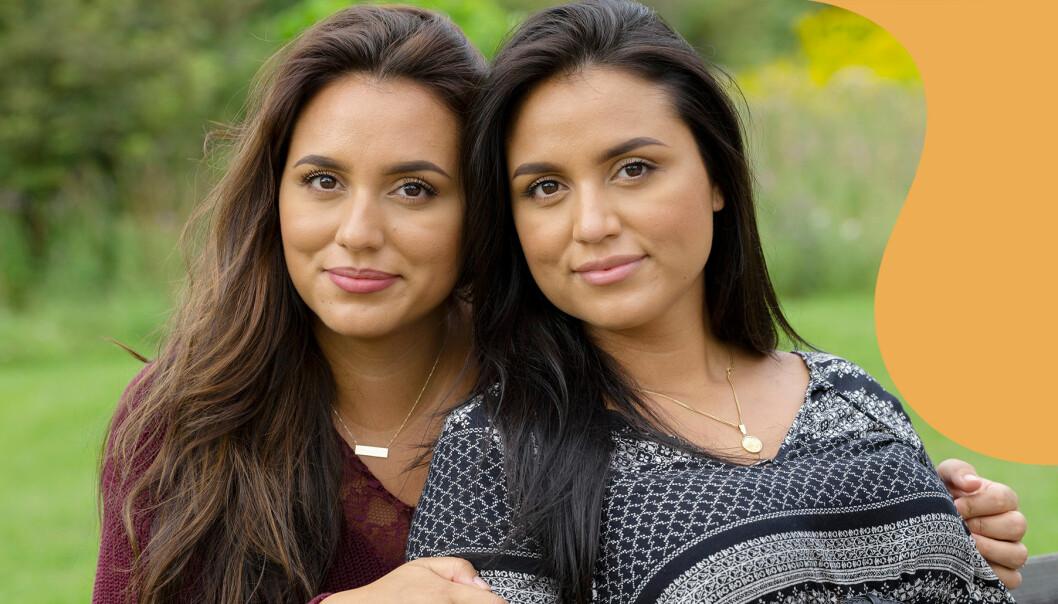 Tvillingarna Johana och Leslie var gravida samtidigt –men Johanas barn dog