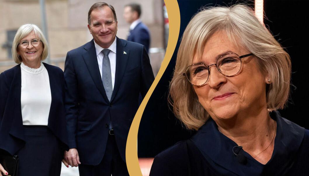Ulla Löfven och Stefan Löfven, galda.