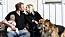 Natalie Eklind med sin man Rickard och sin son Jaxon.