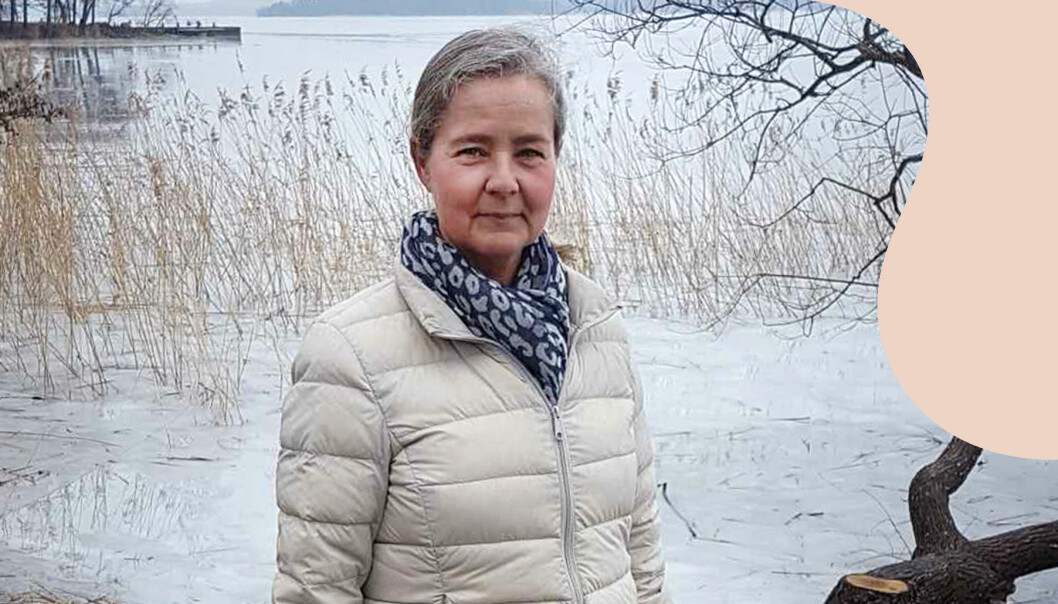 Annalena Svensson fick Alzheimers som 52-åring.