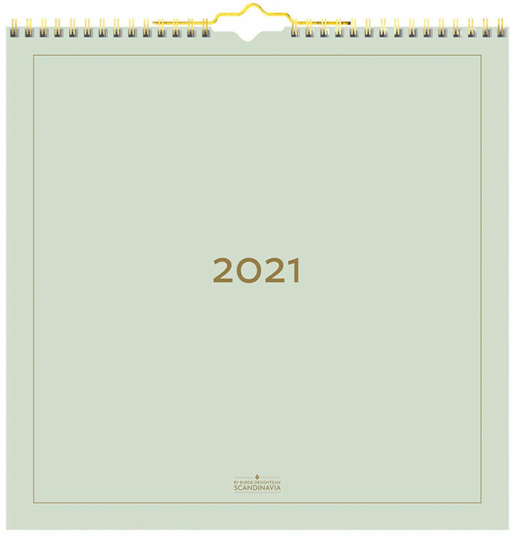 Väggkalender 2021.