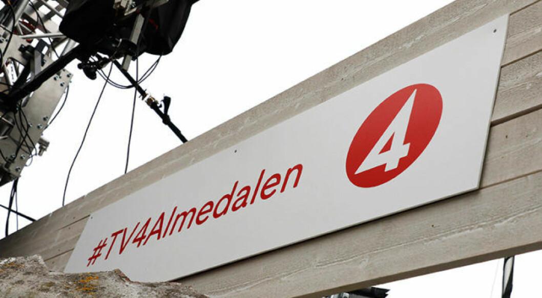 TV4:as logga under Almedalsveckan.
