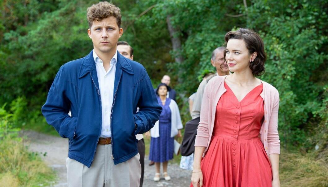 Calle och Nina som spelas Charlie Gustavsson och Hedda Stiernstedt.