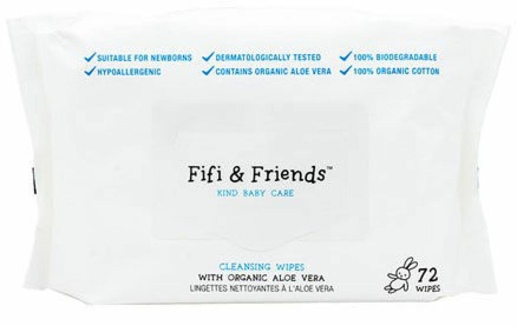 Våtservetter från Fifi & Friends.