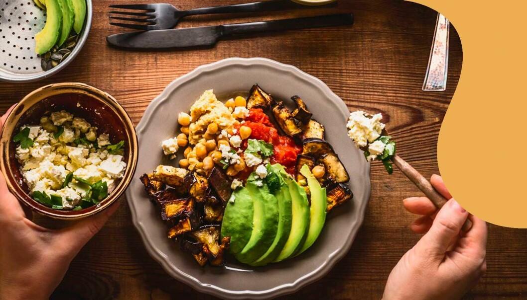 Vegankost är bra för hälsan