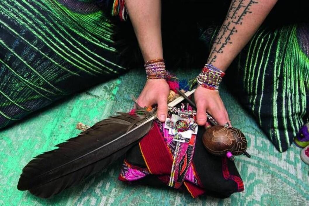 Victor Forselius lär ut indianernas 30 000 år gamla, bortglömda visdom.