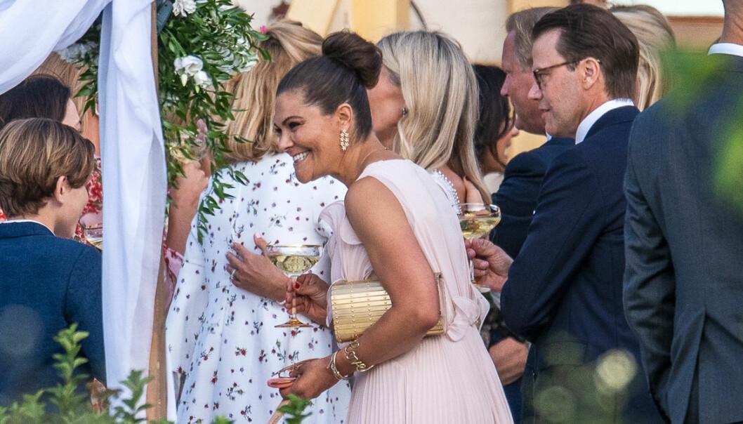 Victoria och Daniel på bröllop
