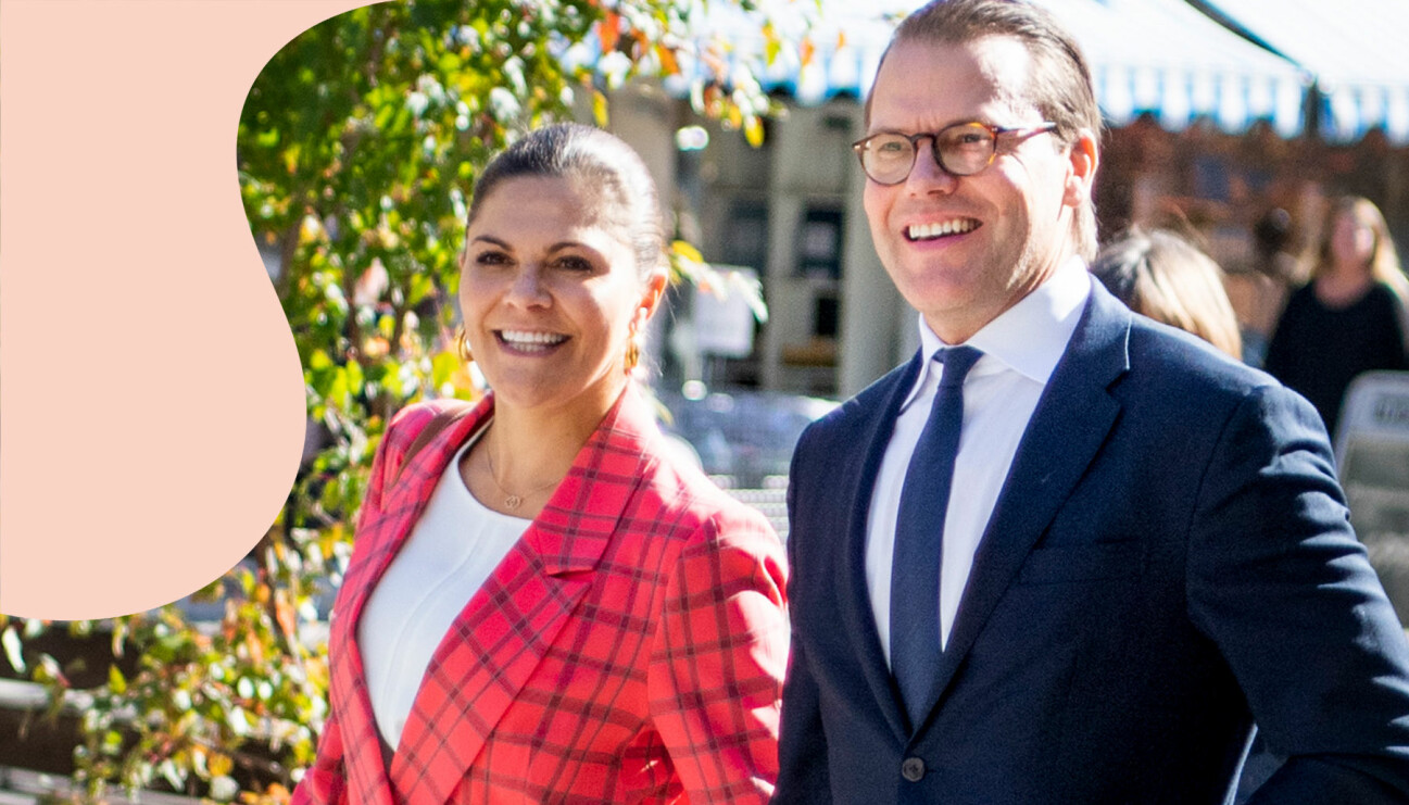 Kronprinsessan Victoria och maken prins Daniel besöker organisationen Rapatac i Sandviken.