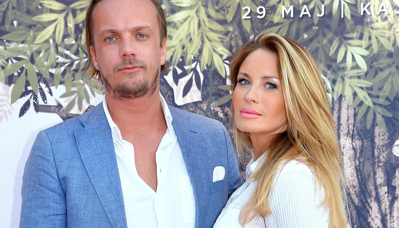 Viktor Philipson och Carolina Gynning väntar sitt första gemensamma barn.