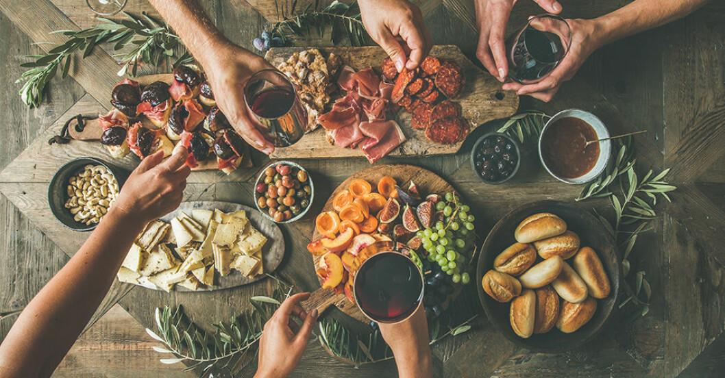 välja rätt vin till maten