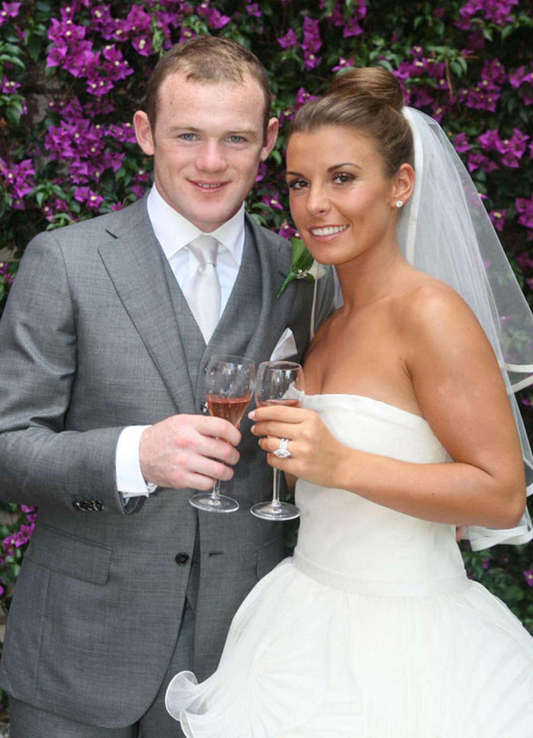 Wayne och Coleen Rooney