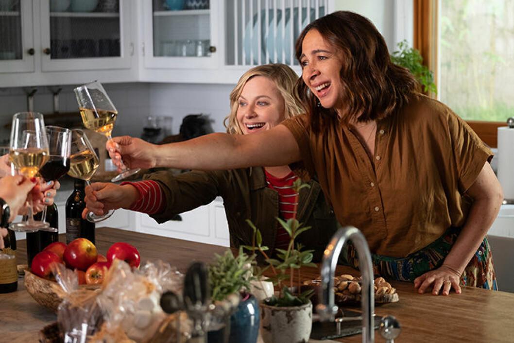 En bild från filmen Wine Country som släpptes 2019 på Netflix.