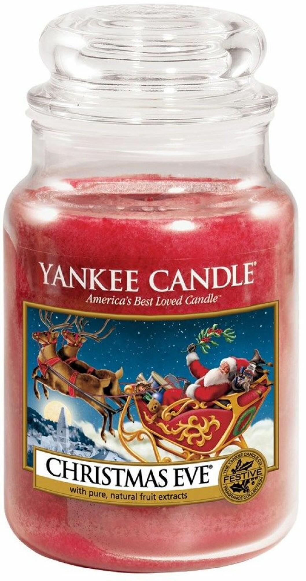 Doftljus från Yankee Candle