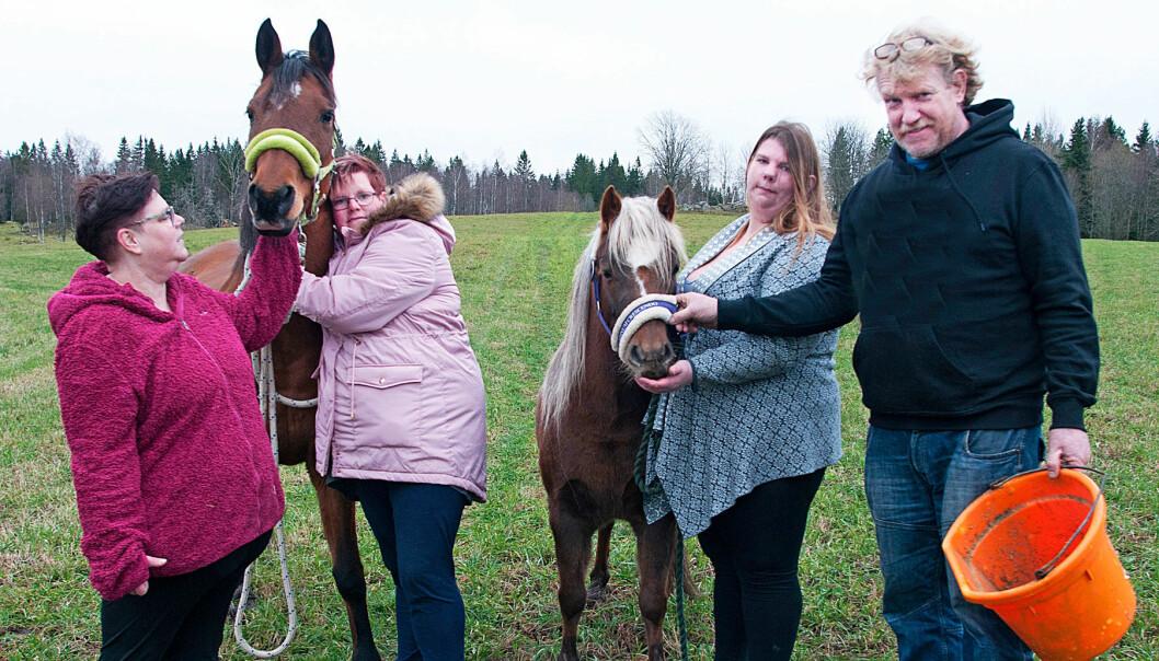 Familjen förlorade Sabina när hon dog av brusten halspulsåder